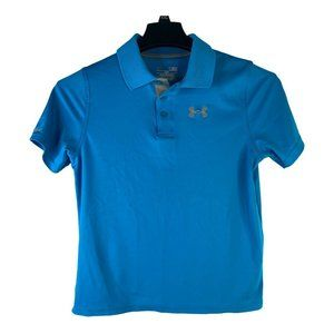 Under Armour Boys Youth YLG Blue Loose Match Play